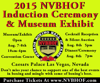 NV Boxing Hall of Fame Sidebar