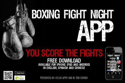 Boxing Fight Night App